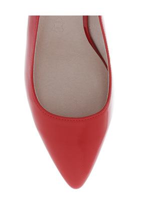 Basque - Eleanor Red Patent Shoe