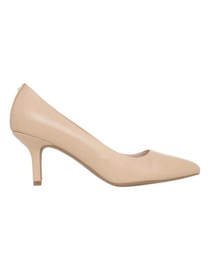 Elizabeth Wide Fit Nude Leather Heel image 1