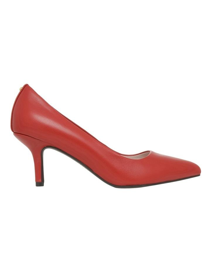 Elizabeth Wide Fit Red Leather Heel image 1