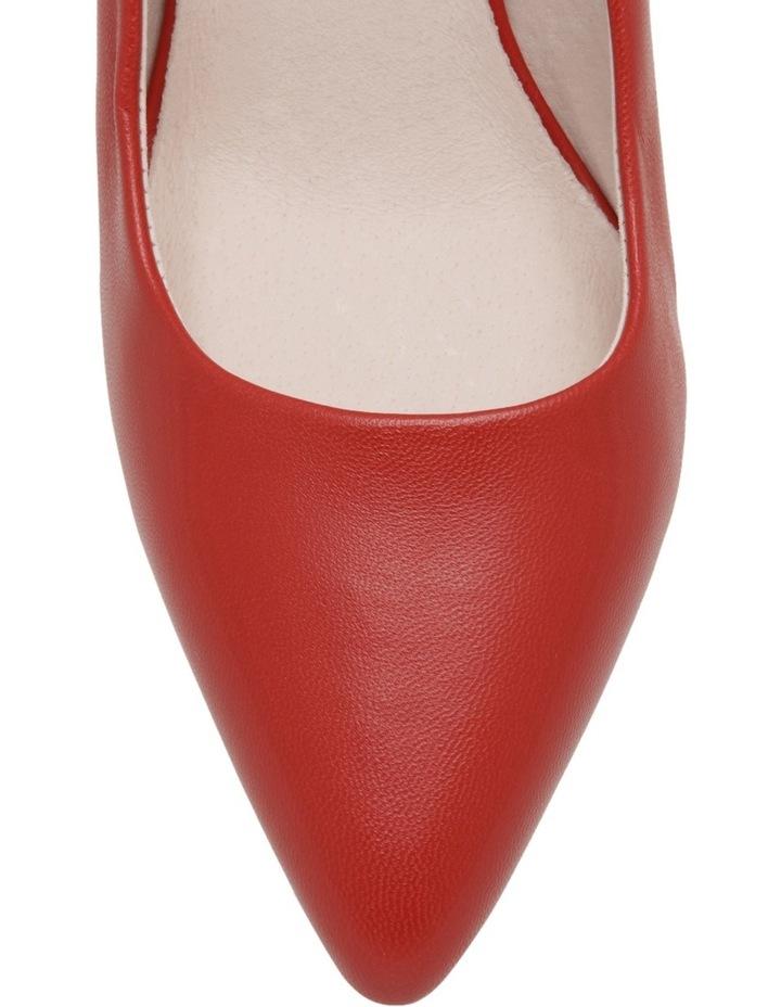 Elizabeth Wide Fit Red Leather Heel image 3