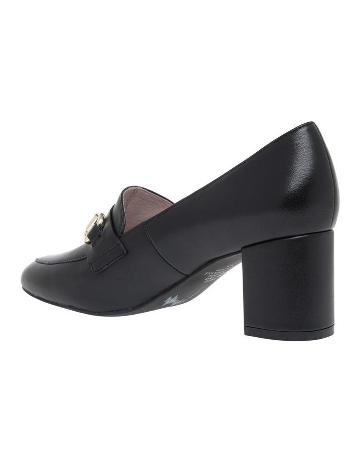 Gretel1 Black Leather Heel image 2