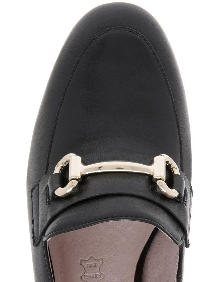 Gretel1 Black Leather Heel image 3