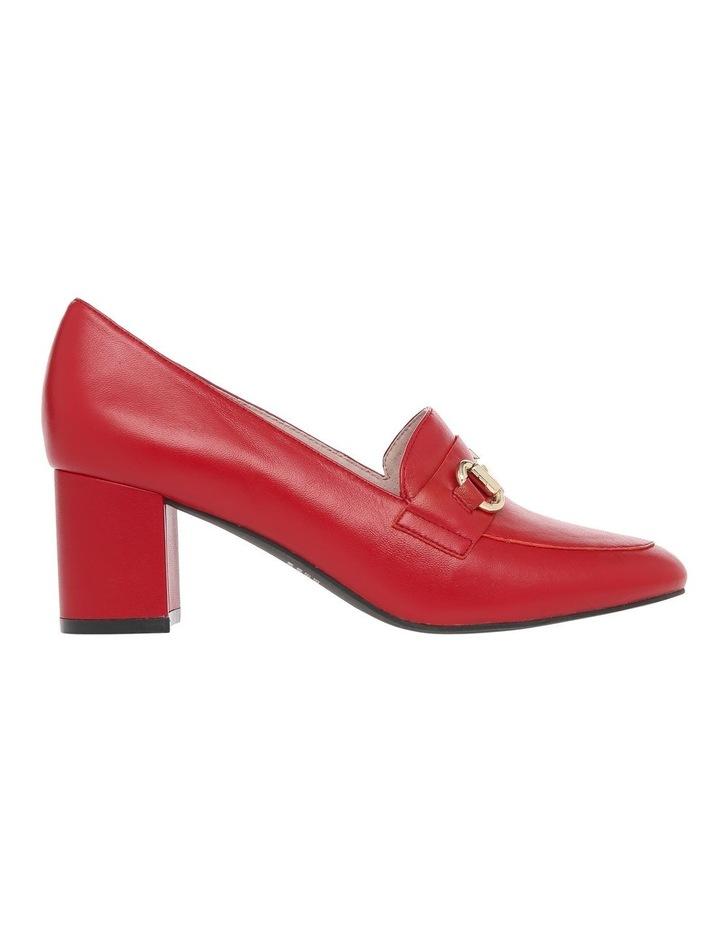 Gretel2 Red Leather Heel image 1