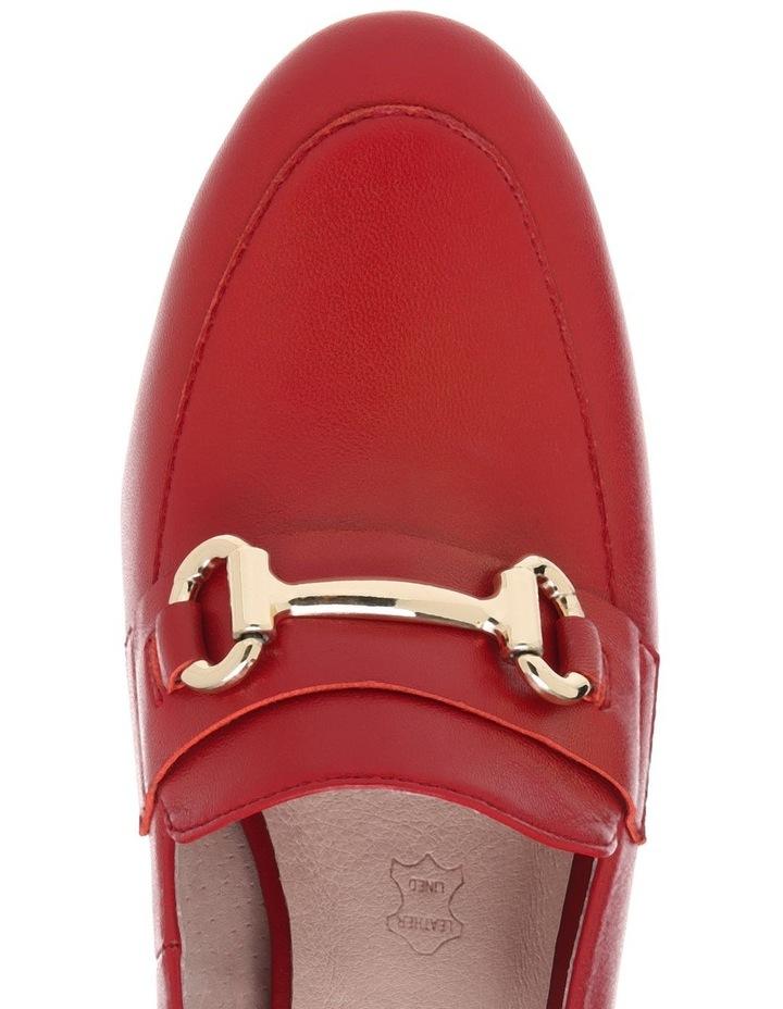 Gretel2 Red Leather Heel image 3