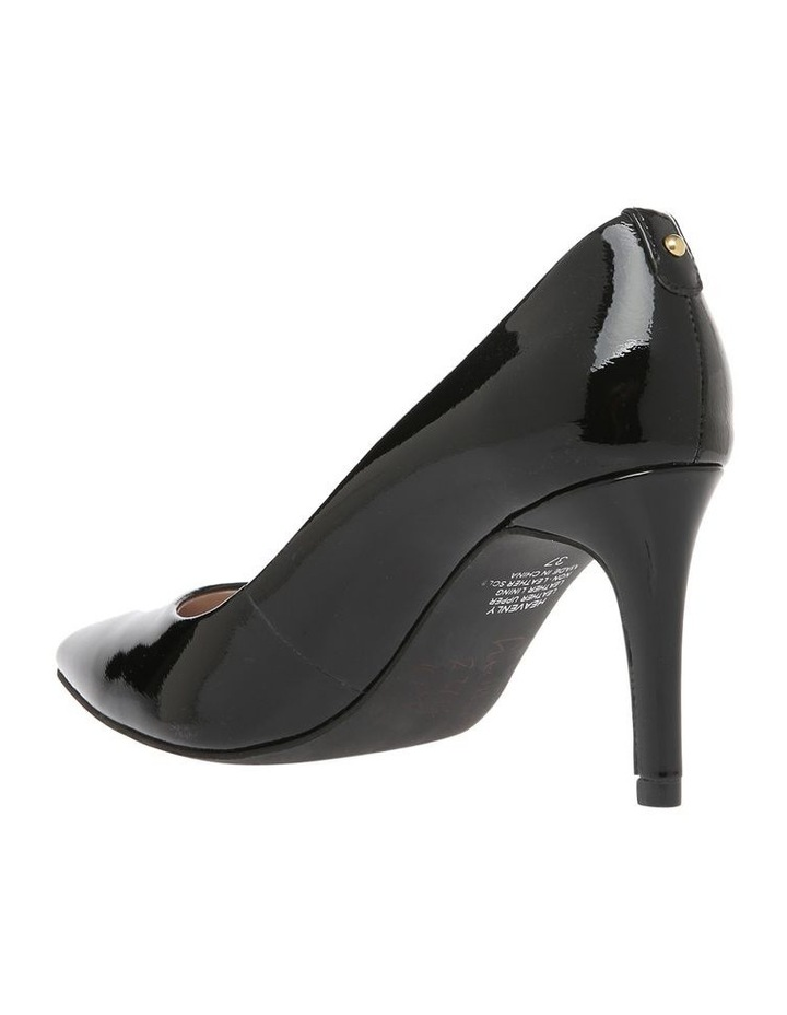 Heavenly Black Patent Heel image 2