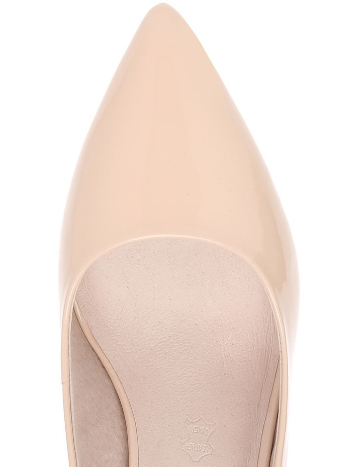 Heavenly Nude Patent Heel image 3