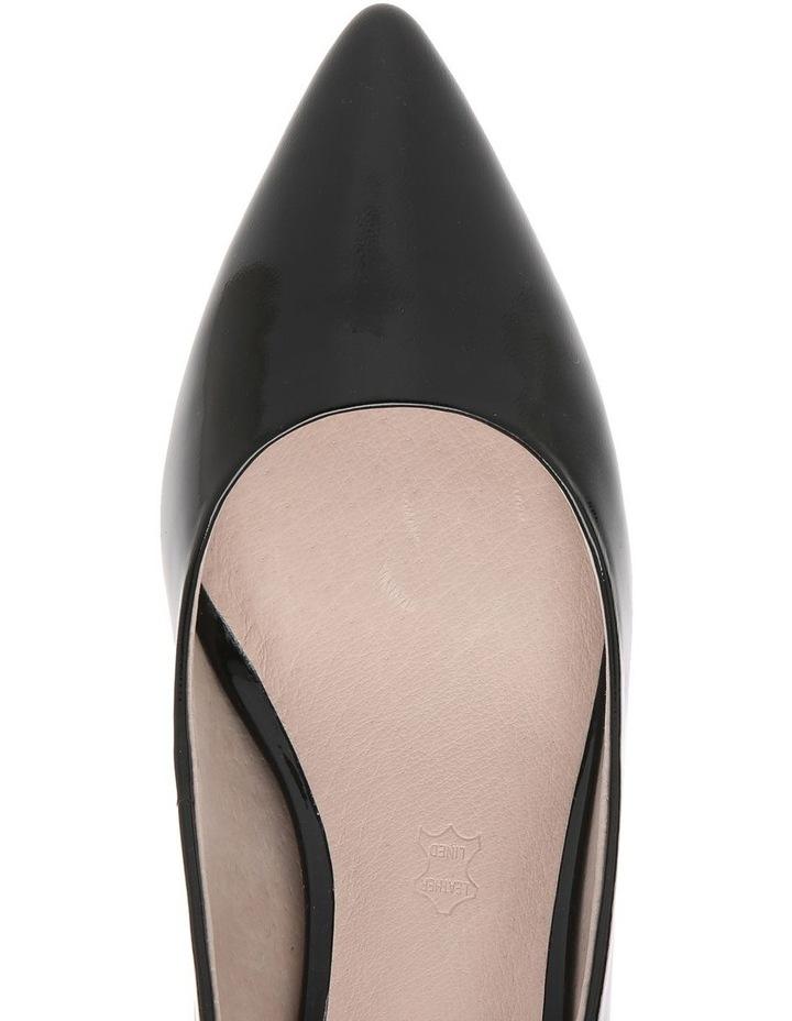 Samantha Black Patent Heel image 3