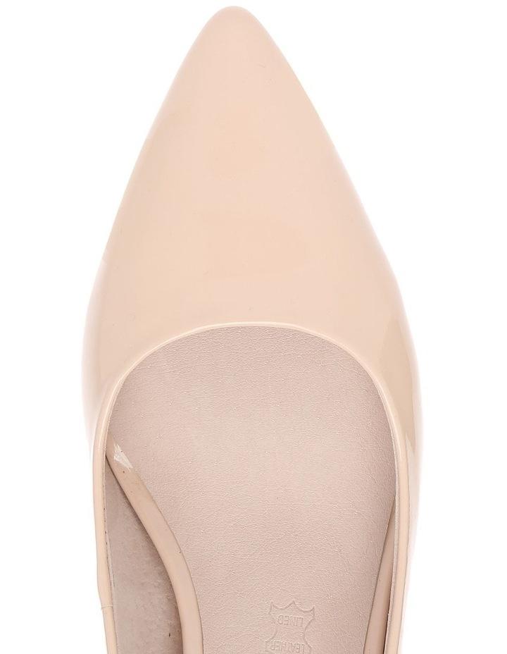 Samantha Nude Patent Heel image 3