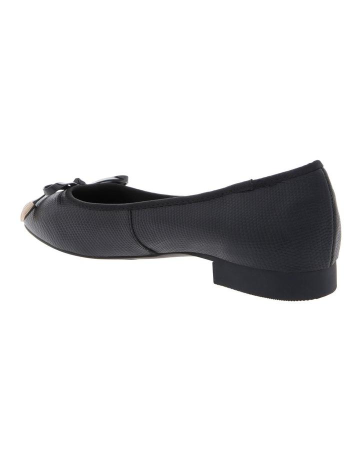 Yasmin Black Embossed Leather Heel image 2