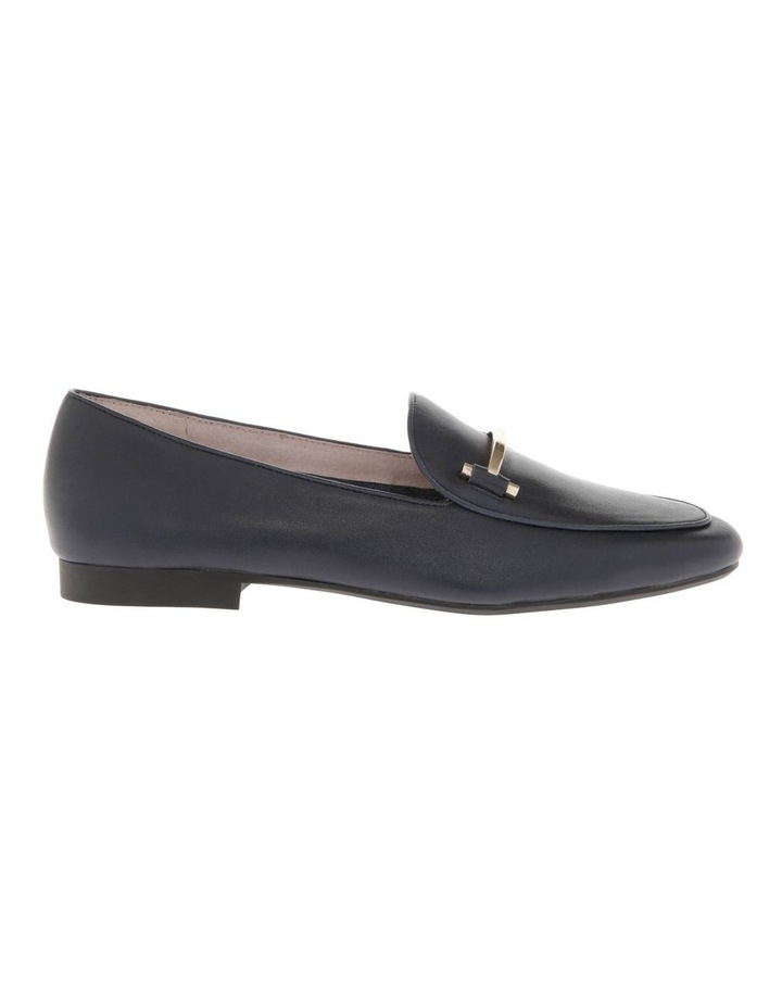 Hannah Navy Cow Leather Flat image 1