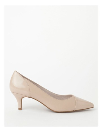 Nude Leather/Patent colour
