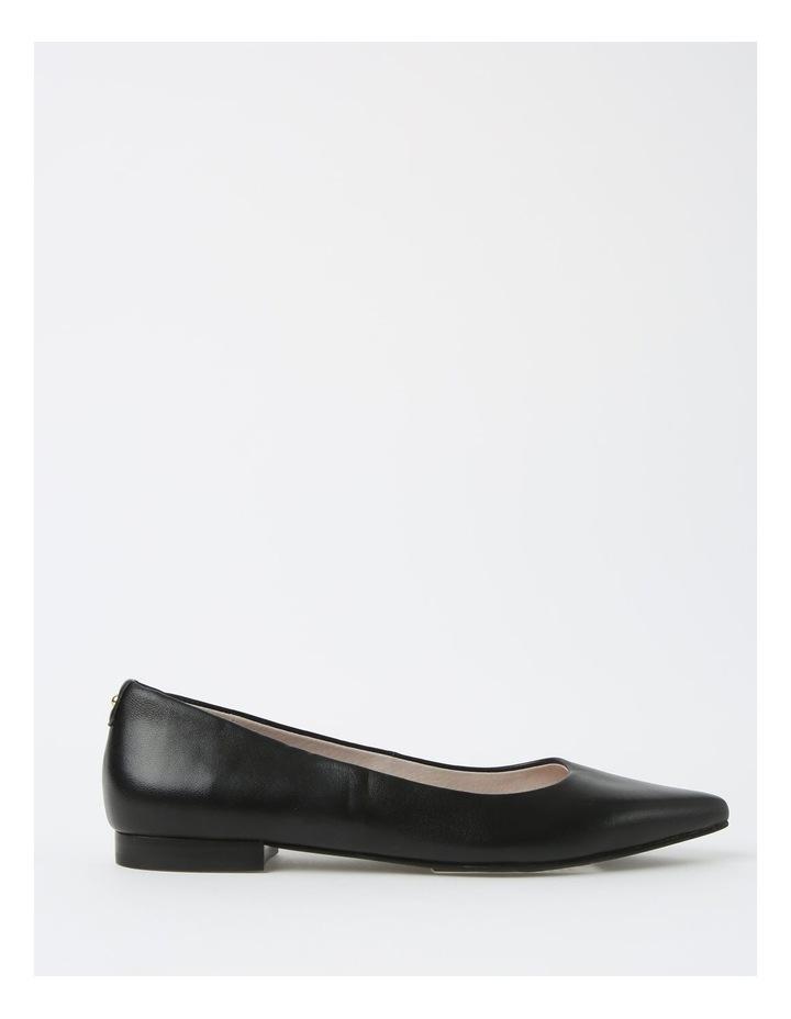 Poppy Black Flat Shoe image 1