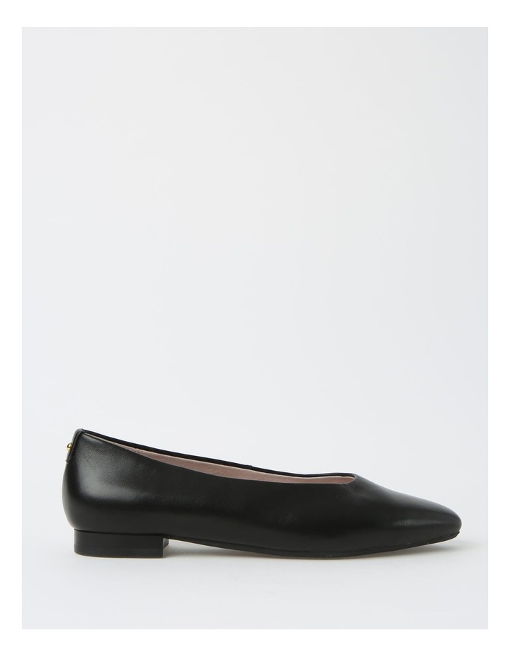 Chica Black Flat Shoe image 1