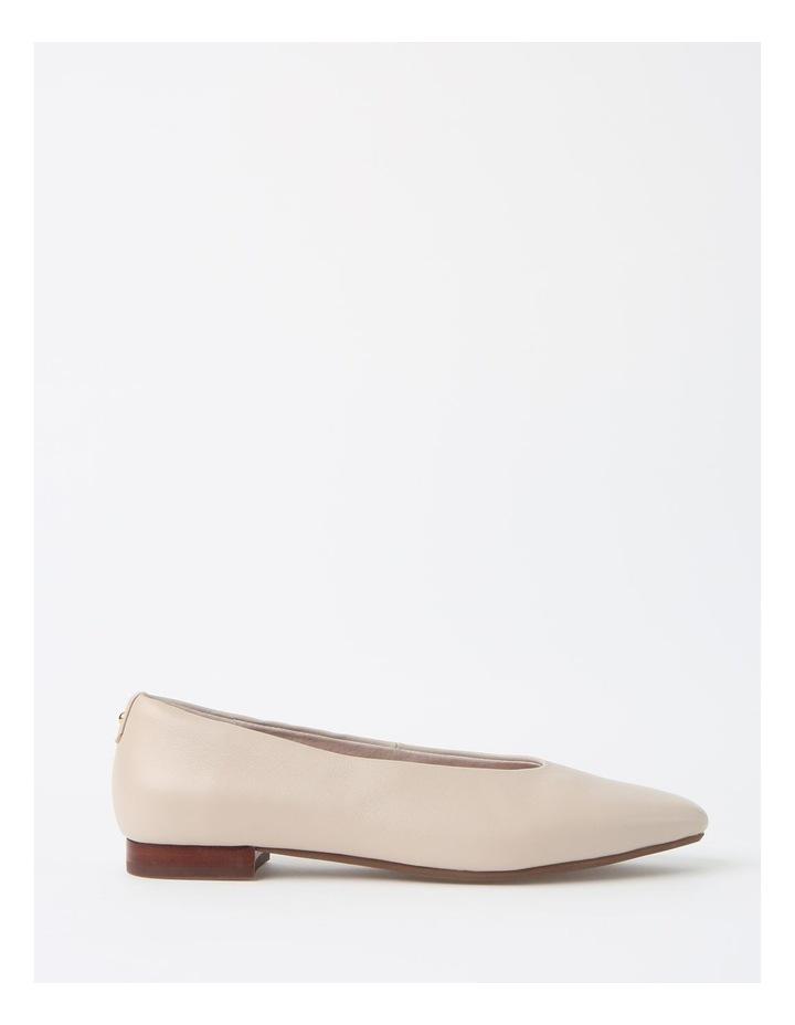 Chica Winter White Flat Shoe image 1