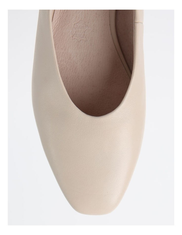 Chica Winter White Flat Shoe image 2