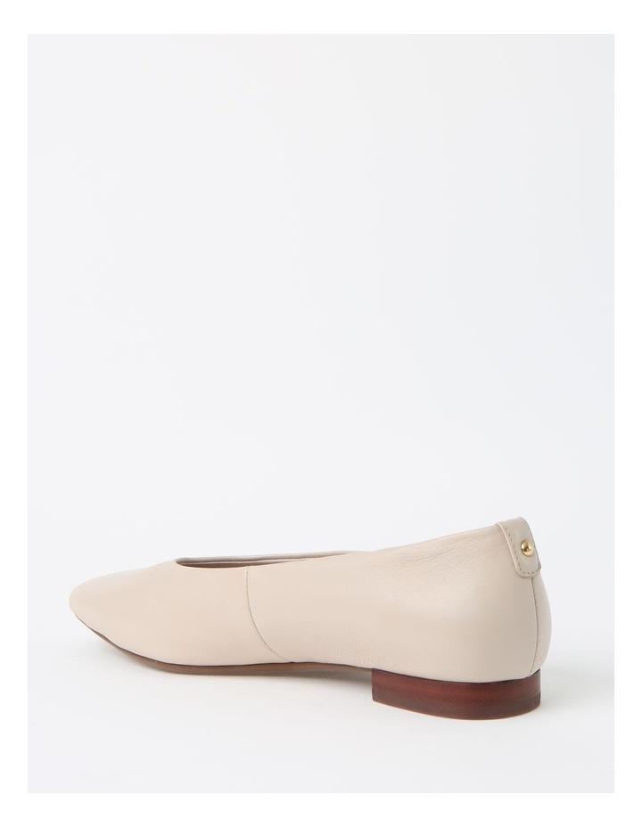 Chica Winter White Flat Shoe image 3