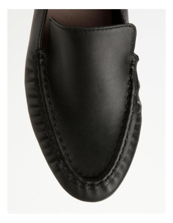 Mara Black Flat Shoe image 2