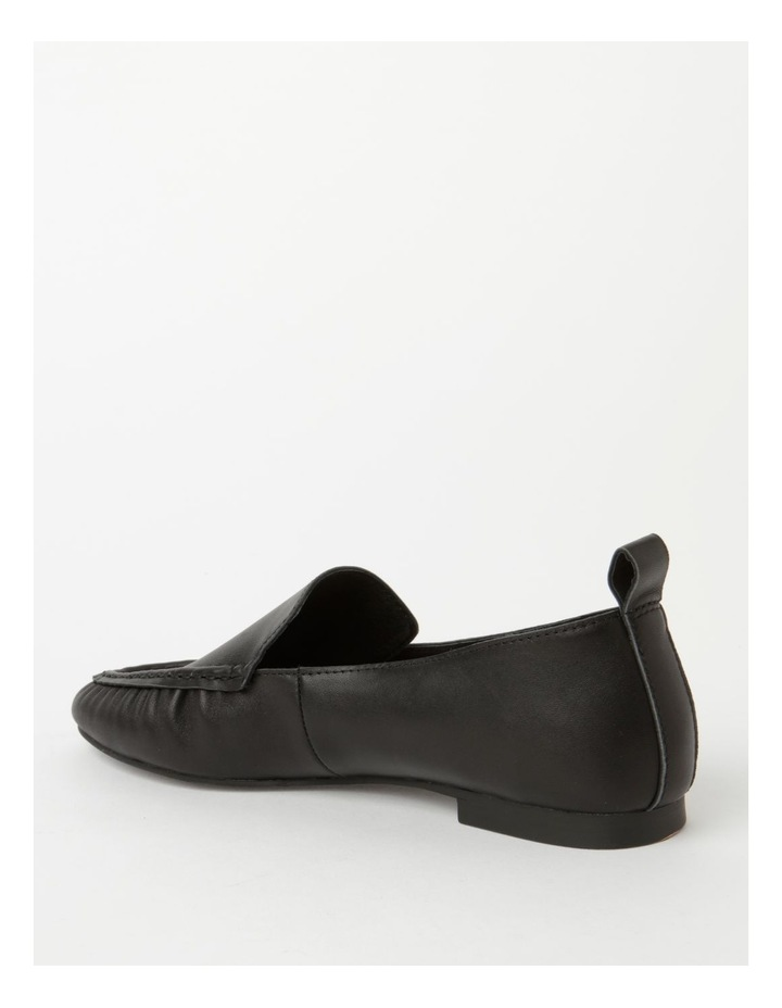 Mara Black Flat Shoe image 3