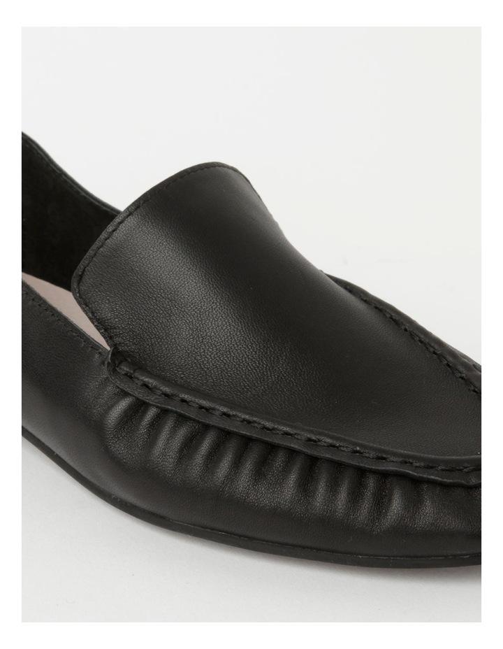 Mara Black Flat Shoe image 4