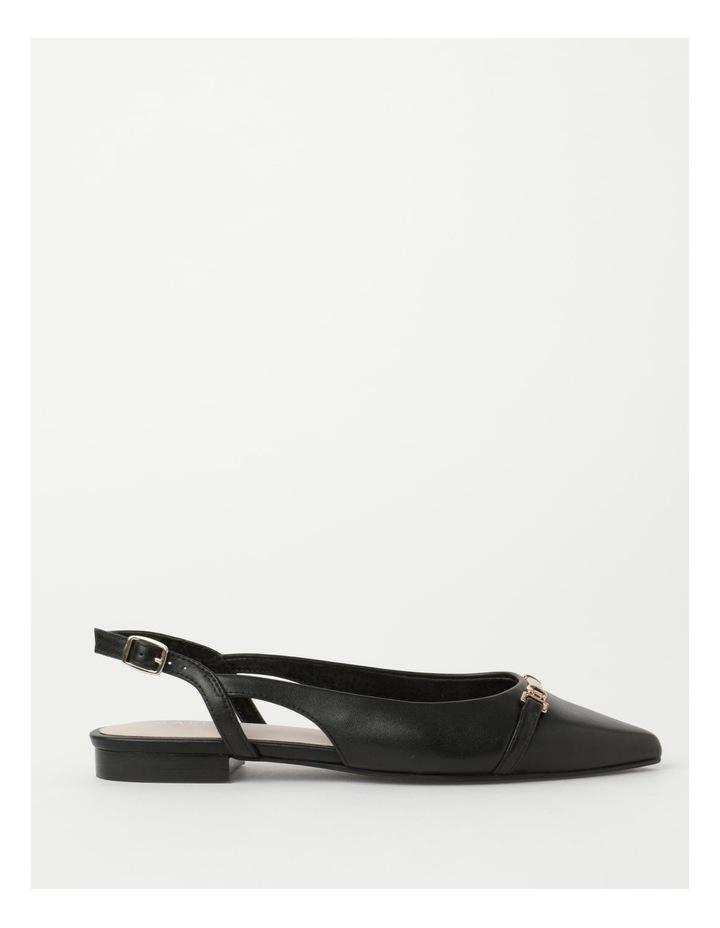 Geneva Black Flat Shoe image 1