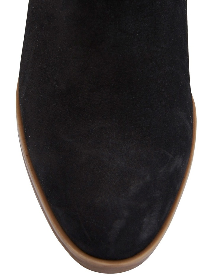 Montreal Black Nubuck Boot image 3