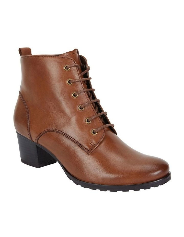 Sandler Kakadu Mid Brown Glove Lace Up Boot image 2