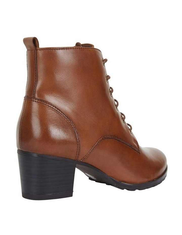 Sandler Kakadu Mid Brown Glove Lace Up Boot image 4