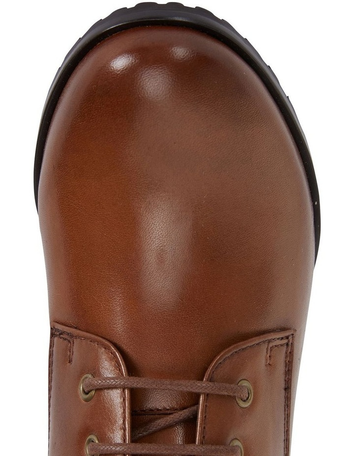 Sandler Kakadu Mid Brown Glove Lace Up Boot image 7