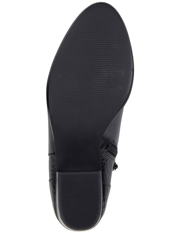 Sandler Oath Black Croc Boot image 6