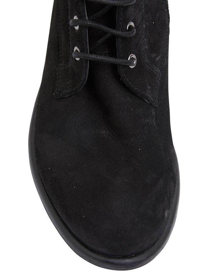 Badge Black Oily Nubuck Boot image 5