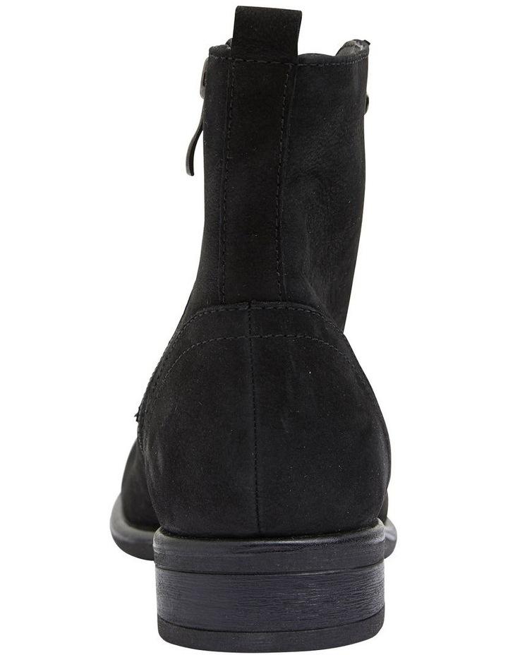 Badge Black Oily Nubuck Boot image 6