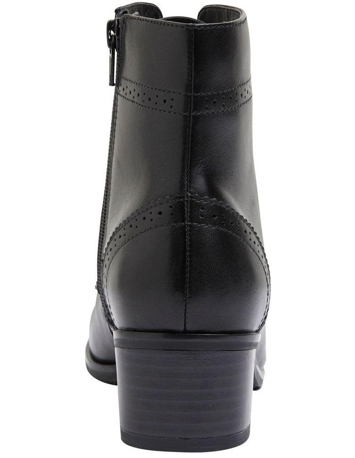 Lindsey Black Glove Boot image 5