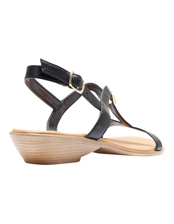 Sasha Black Glove Sandal image 4
