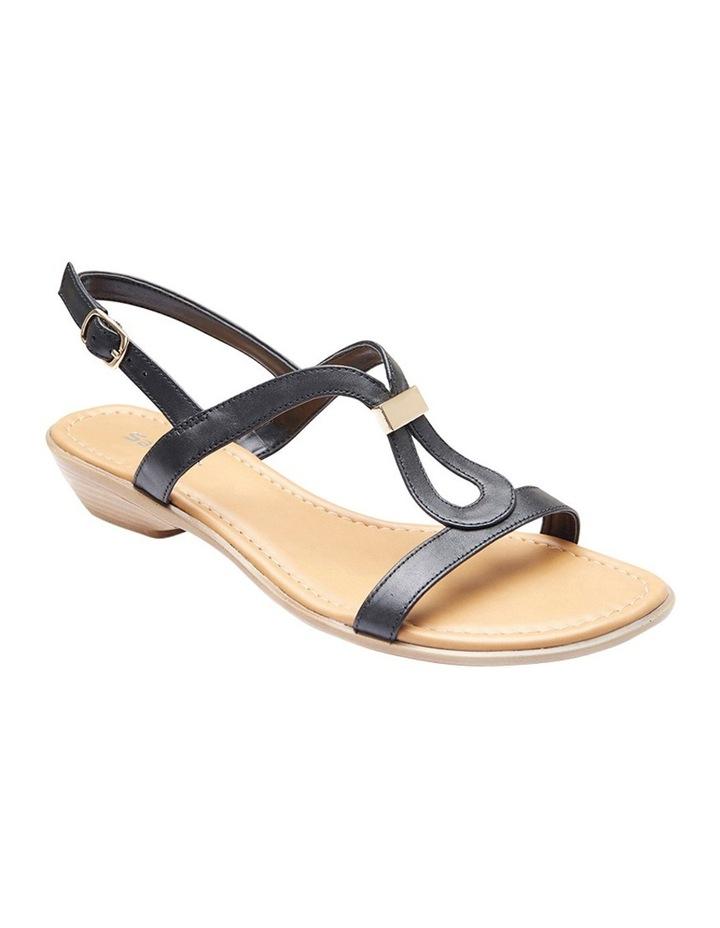 Sasha Pewter Metallic Sandal image 2