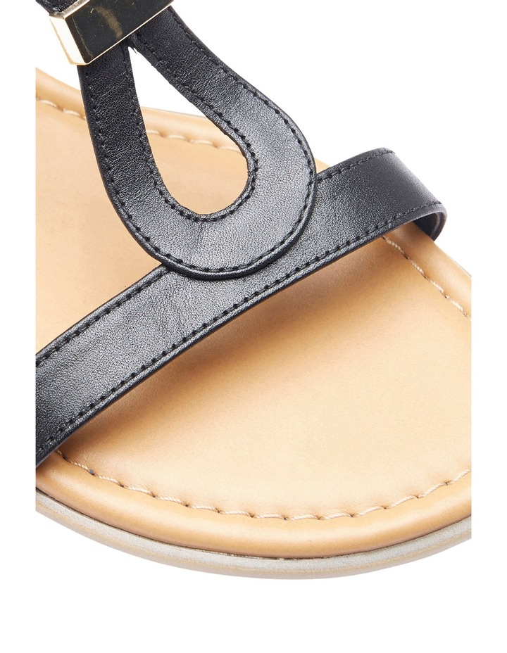 Sasha Pewter Metallic Sandal image 3
