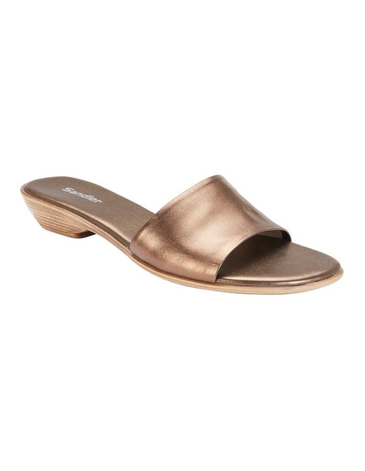 Saga Bronze Metallic Sandal image 2