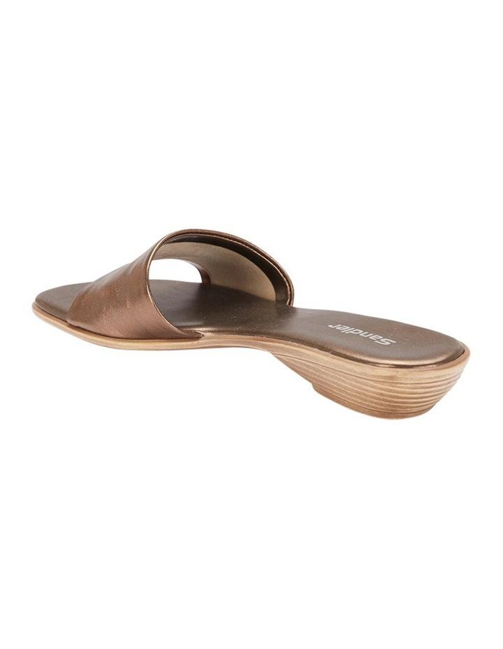 Saga Bronze Metallic Sandal image 3