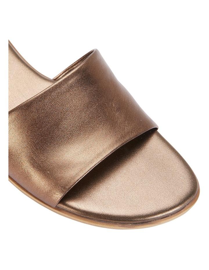 Saga Bronze Metallic Sandal image 4