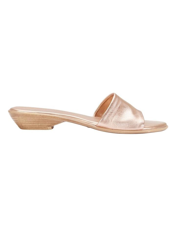 Saga Rose Gold Metallic Sandal image 1