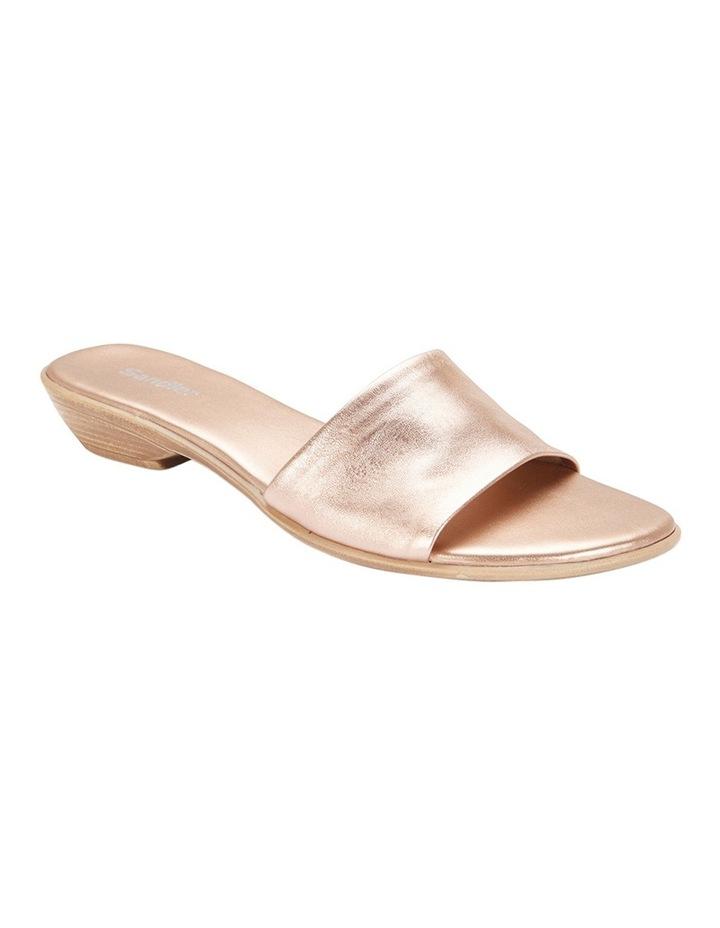 Saga Rose Gold Metallic Sandal image 2