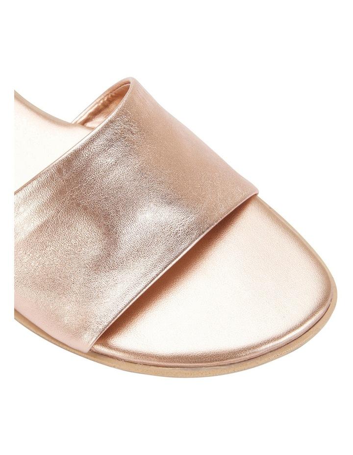 Saga Rose Gold Metallic Sandal image 4