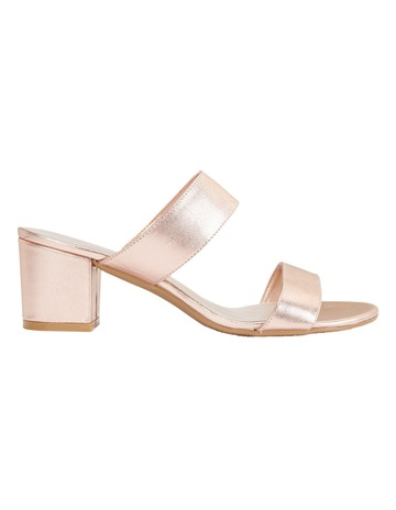 ca9fa9247a3 Sandler Ace Rose Gold Metallic Sandal