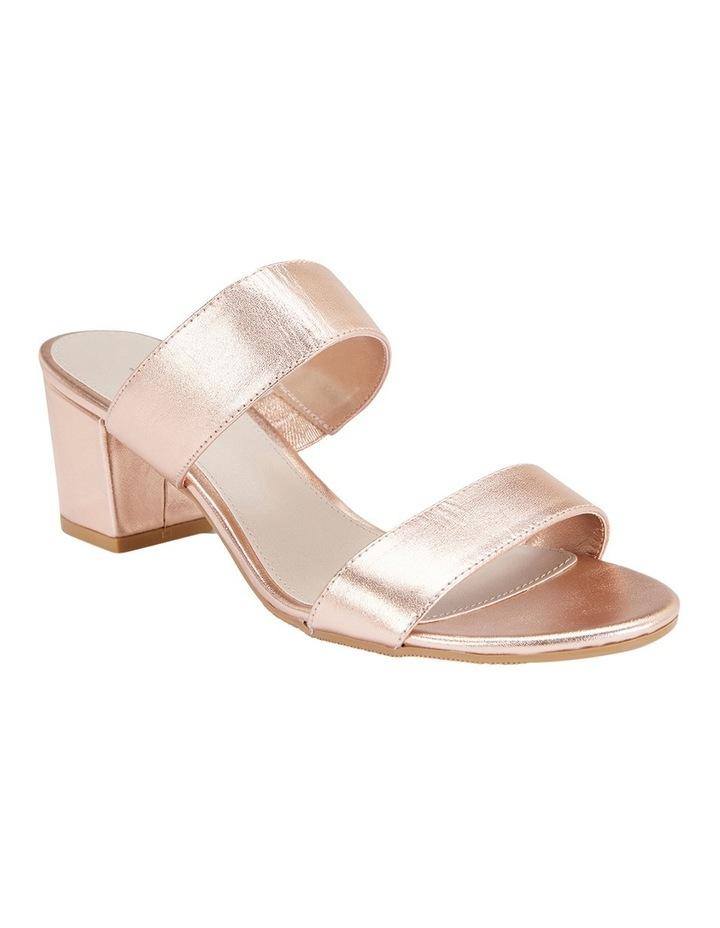 Ace Rose Gold Metallic Sandal image 2