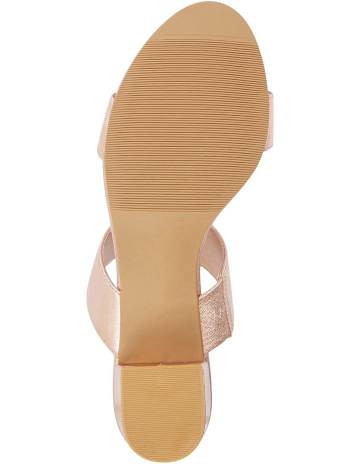 Ace Rose Gold Metallic Sandal image 6
