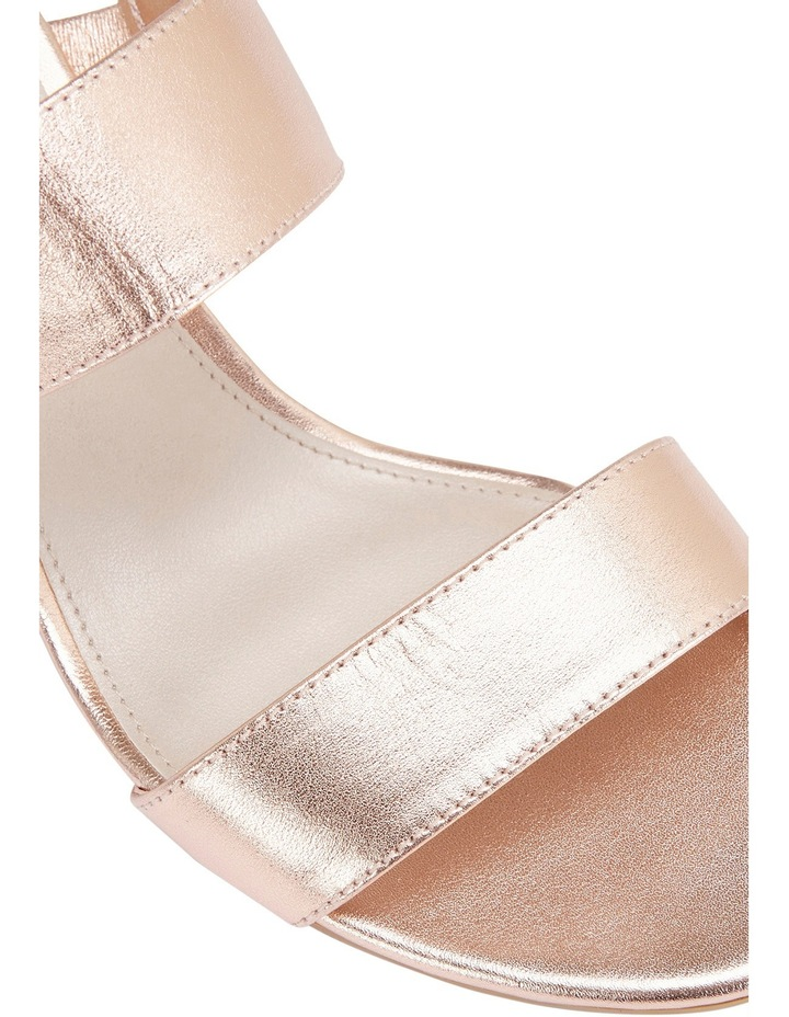 Ace Rose Gold Metallic Sandal image 7