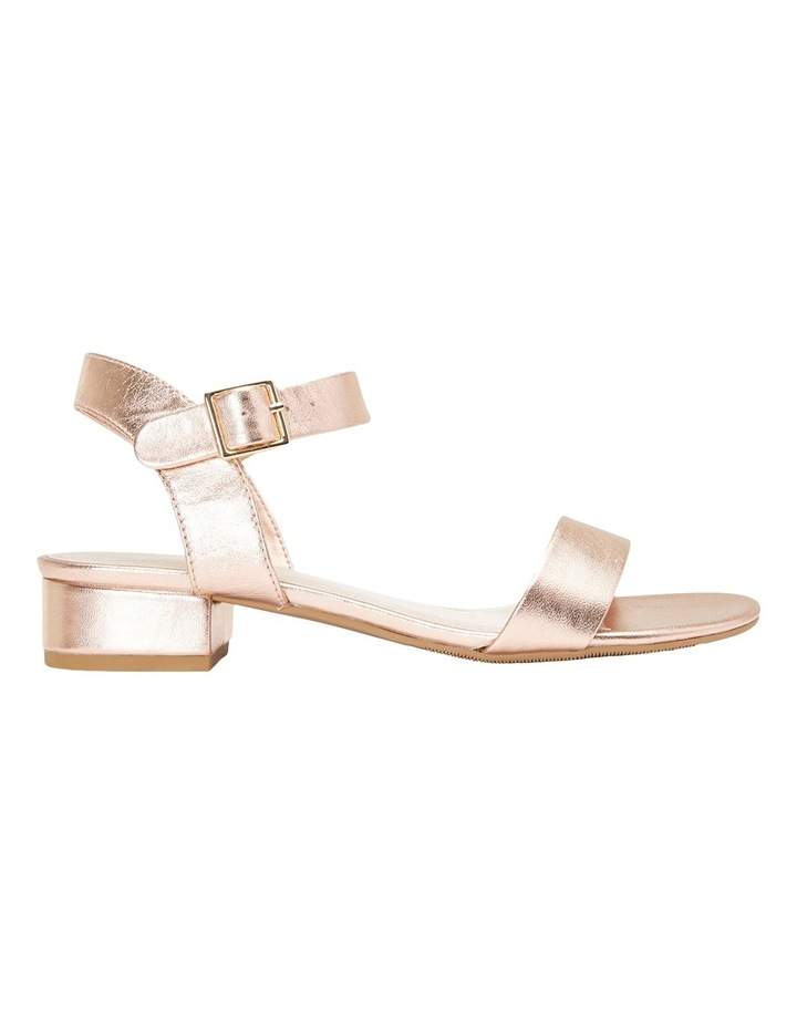 Aiken Rose Gold Metallic Sandal image 1