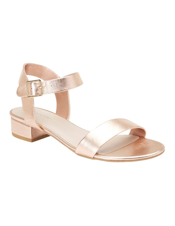 Aiken Rose Gold Metallic Sandal image 2