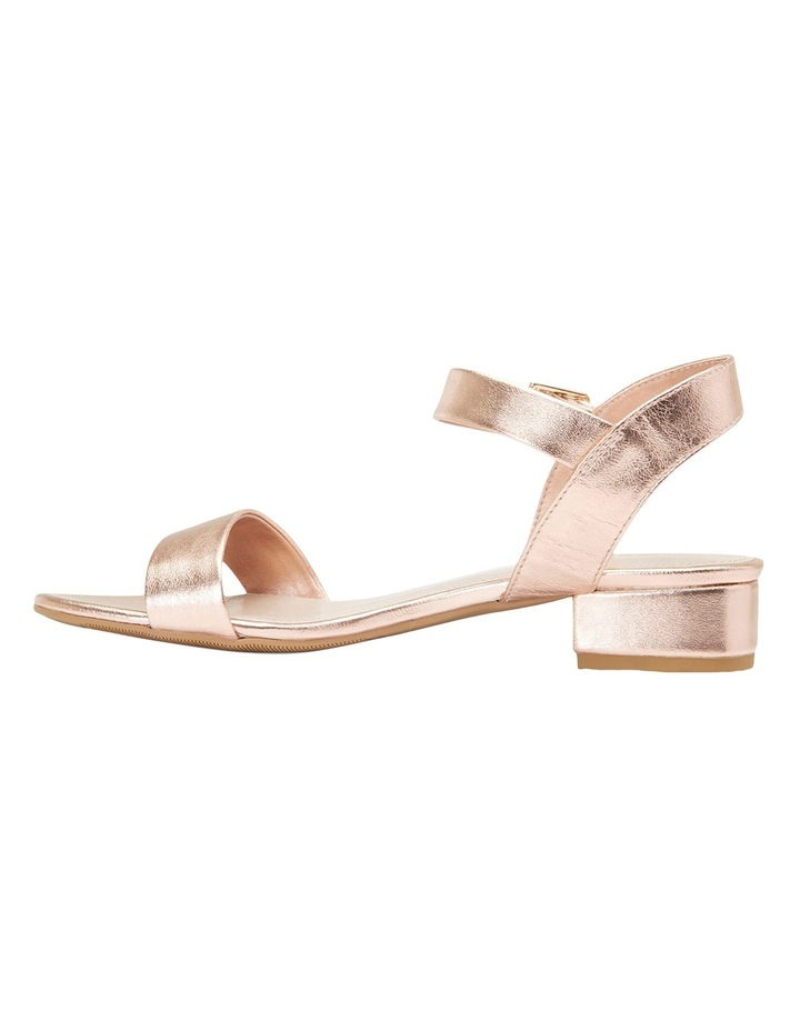 Aiken Rose Gold Metallic Sandal image 3