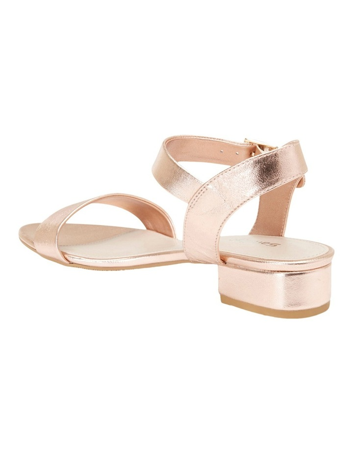 Aiken Rose Gold Metallic Sandal image 4