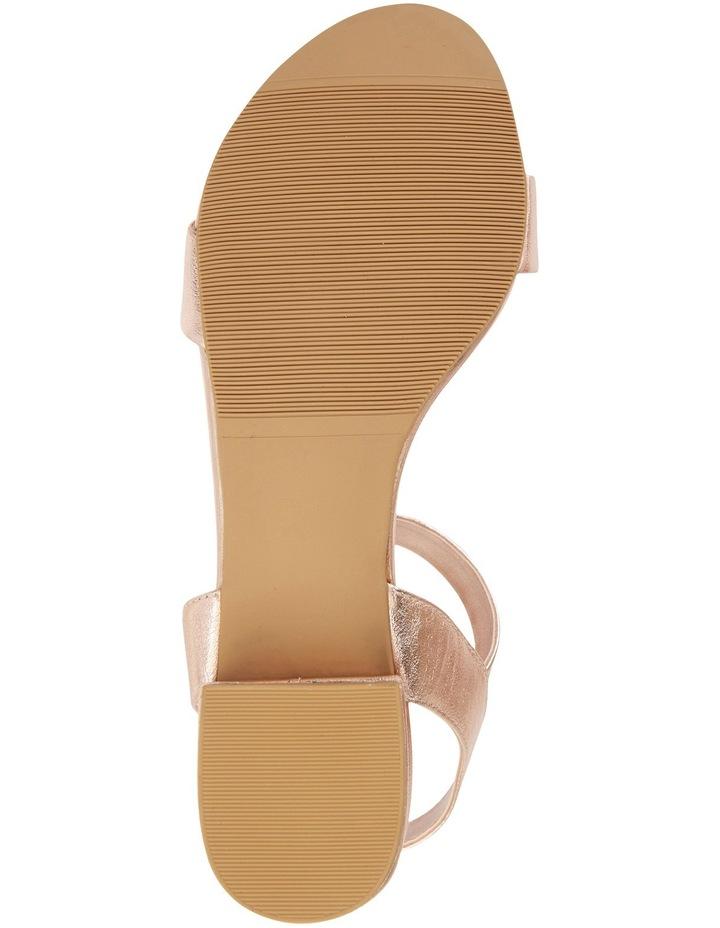 Aiken Rose Gold Metallic Sandal image 6